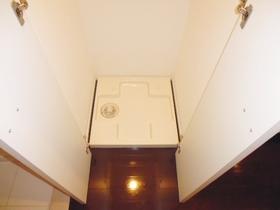 洗濯機は室内に置けます☆