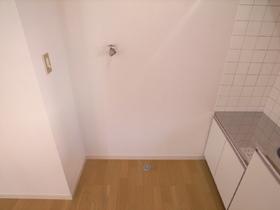 洗濯機置き場は室内ですよ!