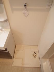 室内洗濯器置き場