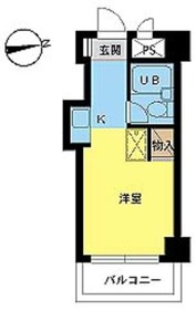 スカイコート戸田公園2階Fの間取り画像