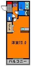 広々13帖のワンルームのお部屋です☆