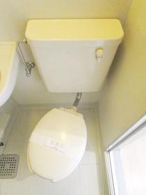 洋式トイレ。