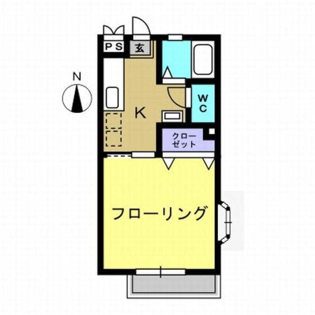 K3.5帖・洋室8帖