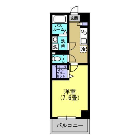 洋室7.6帖