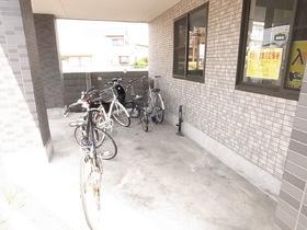 もちろん駐輪スペースも確保っ!