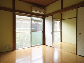 洋室2部屋!