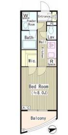 ル シェル エムズ3階Fの間取り画像
