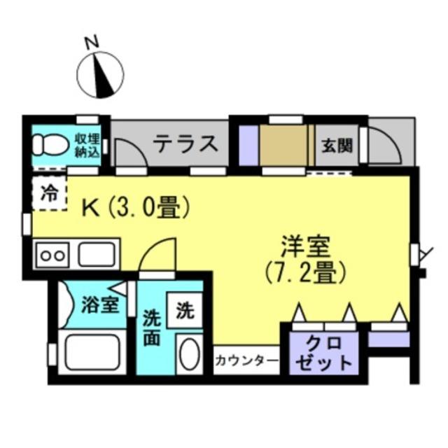 K3 洋室7帖