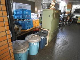 ゴミ置場はこちら。敷地内にあり便利です☆