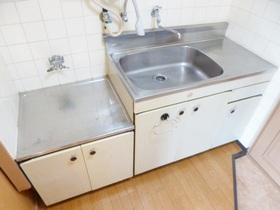 ガスコンロが設置可能なキッチンです♪
