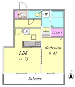 コモーダ大森南 102号室