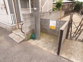 ゴミ置き場も共用部分に設置してあります