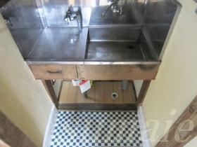 1口ガスコンロ設置可能のキッチン!