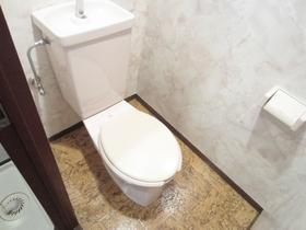 清潔感あるおトイレです