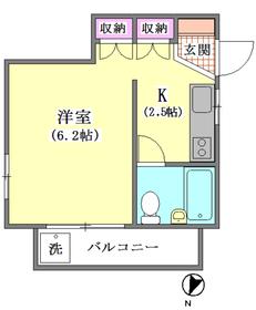 芙蓉コーポ 201号室