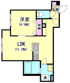 (仮称)本羽田1丁目メゾン 102号室