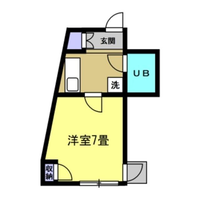 K2帖、洋室7帖