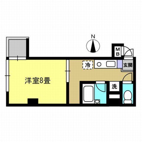バストイレ別 8帖