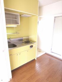 キッチン。かわいい。