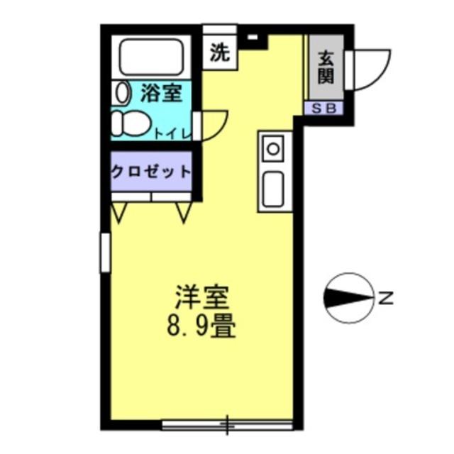 洋室8.9帖