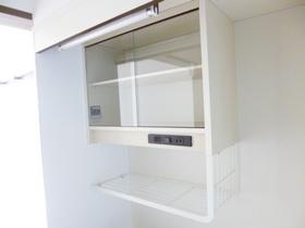 キッチン上部の収納スペース☆