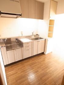キッチンも余裕のスペース。