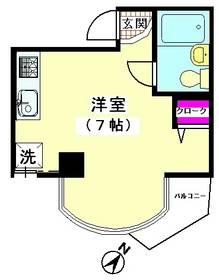 アイリス雪谷(水道代無し) 302号室