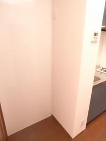 冷蔵庫置くスペースもきちんとあります