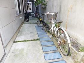自転車はこちらに置けます★