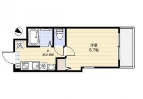ミルキーハウス 201号室