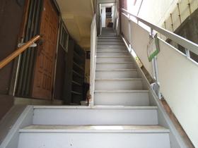 階段で上がります!