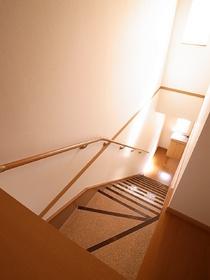 階段のある賃貸…あこがれますね!