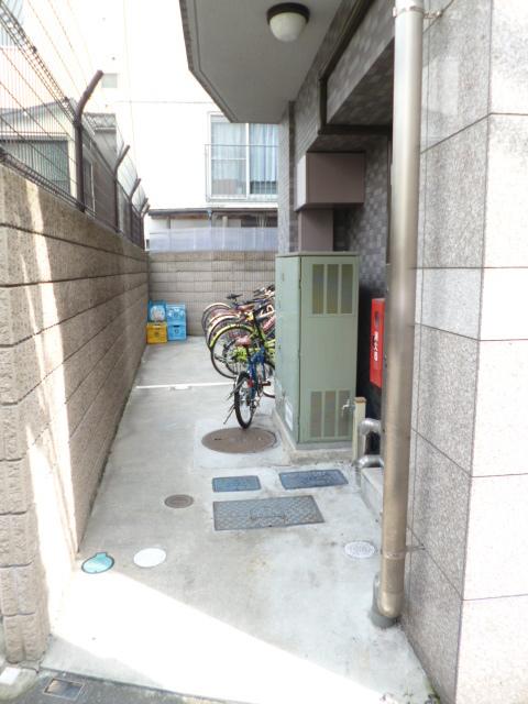 スカイコートヌーベル早稲田駐車場