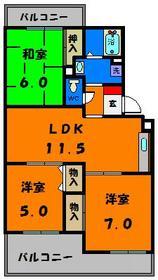 使い勝手の問い3LDK!収納も多いお部屋です