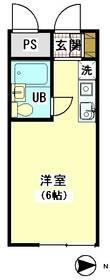 パラドーム東雪谷 204号室