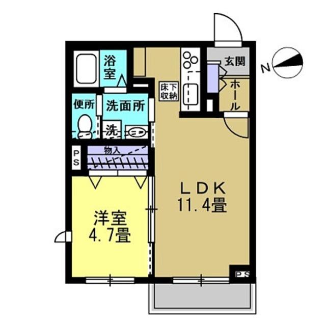 LDK11.4帖・洋室4.7帖