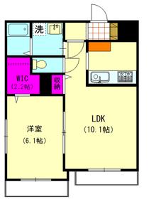 メゾンK-1 102号室