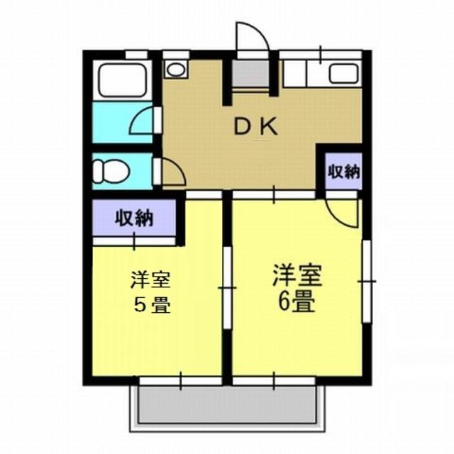 DK5.6帖・洋室5帖・洋室6帖