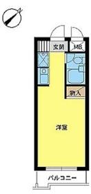 スカイコート日吉32階Fの間取り画像