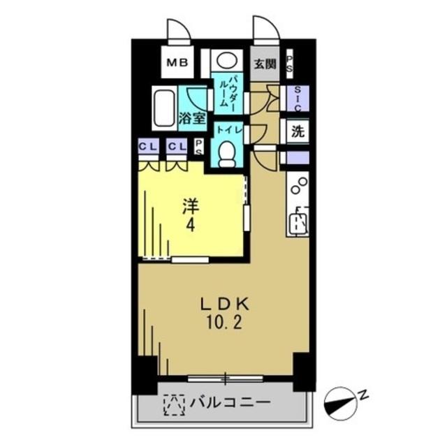 洋4帖 LDK10.2帖