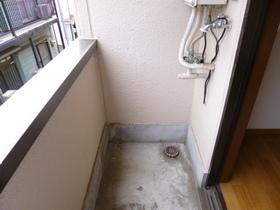 洗濯機置場も完備!