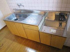 ゆったりキッチンで料理の幅も広がりますね♪