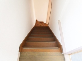 階段スペース。