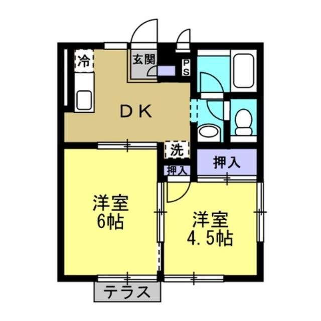 洋4.5帖 洋6帖 DK5帖