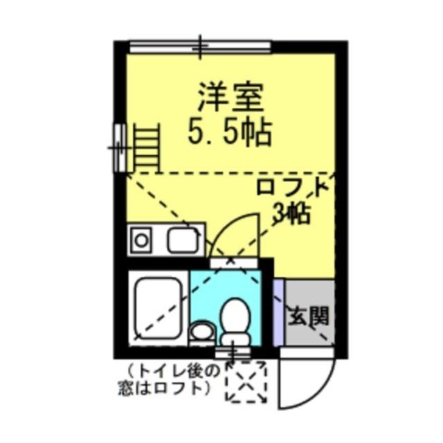 洋5.9帖 ロフト3帖
