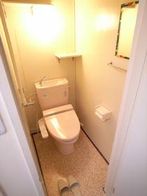 ウォシュレット機能付きの嬉しいトイレです!