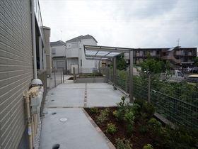 敷地内に屋根付き駐輪場がございます!