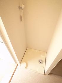 もちろん室内洗濯機置き場です☆