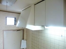 キッチンの上部収納!