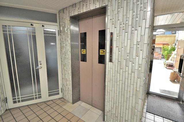 嬉しい事にエレベーターがあります。重い荷物を持っていても安心